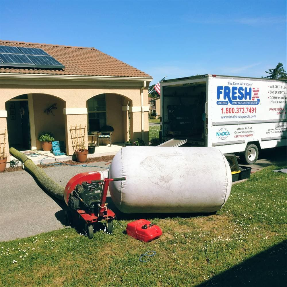 Residential Air Duct Cleaning Services