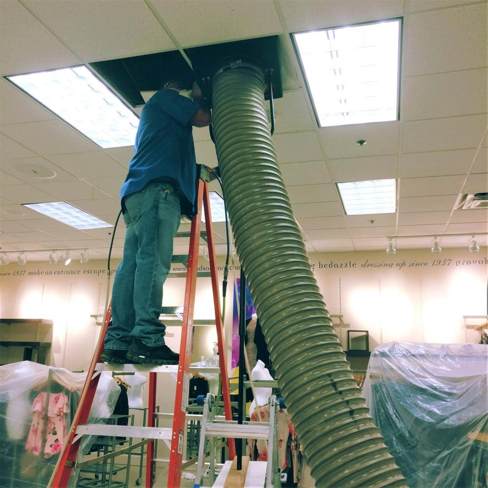 Commercial Duct Cleaning Department Store