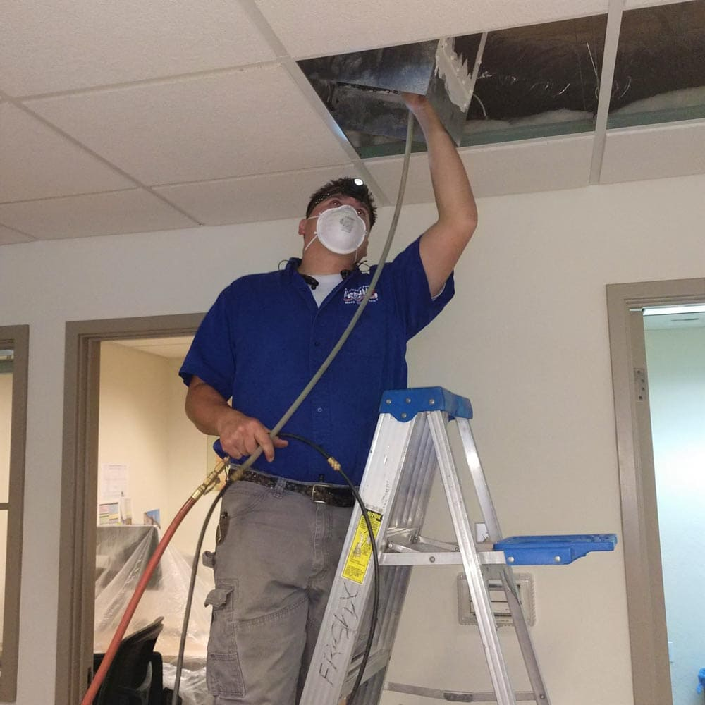 Commercial Duct Cleaning NADCA ASCS Member Salinas