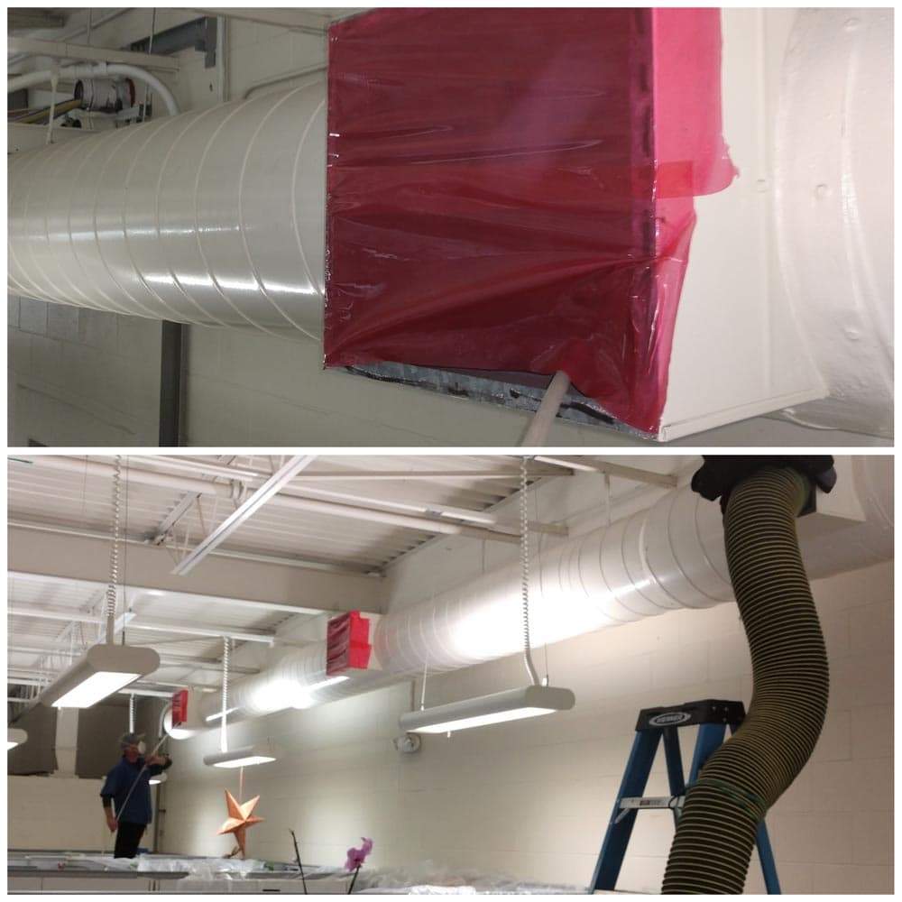 Commercial Duct Cleaning NADCA CSUMB Building