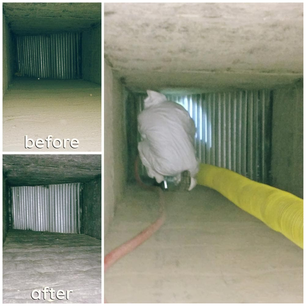 Commercial Duct Cleaning NADCA Large Ductwork