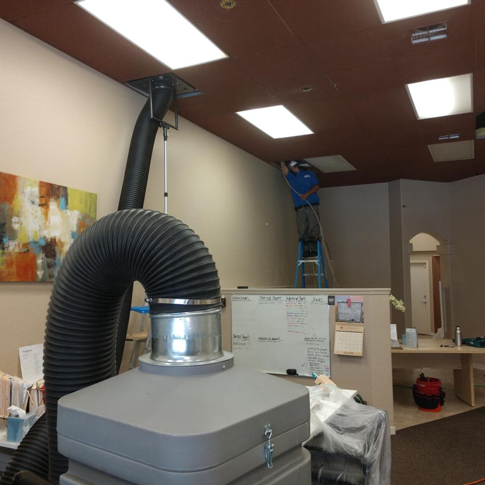Commercial Duct Cleaning NADCA Salinas Office Building
