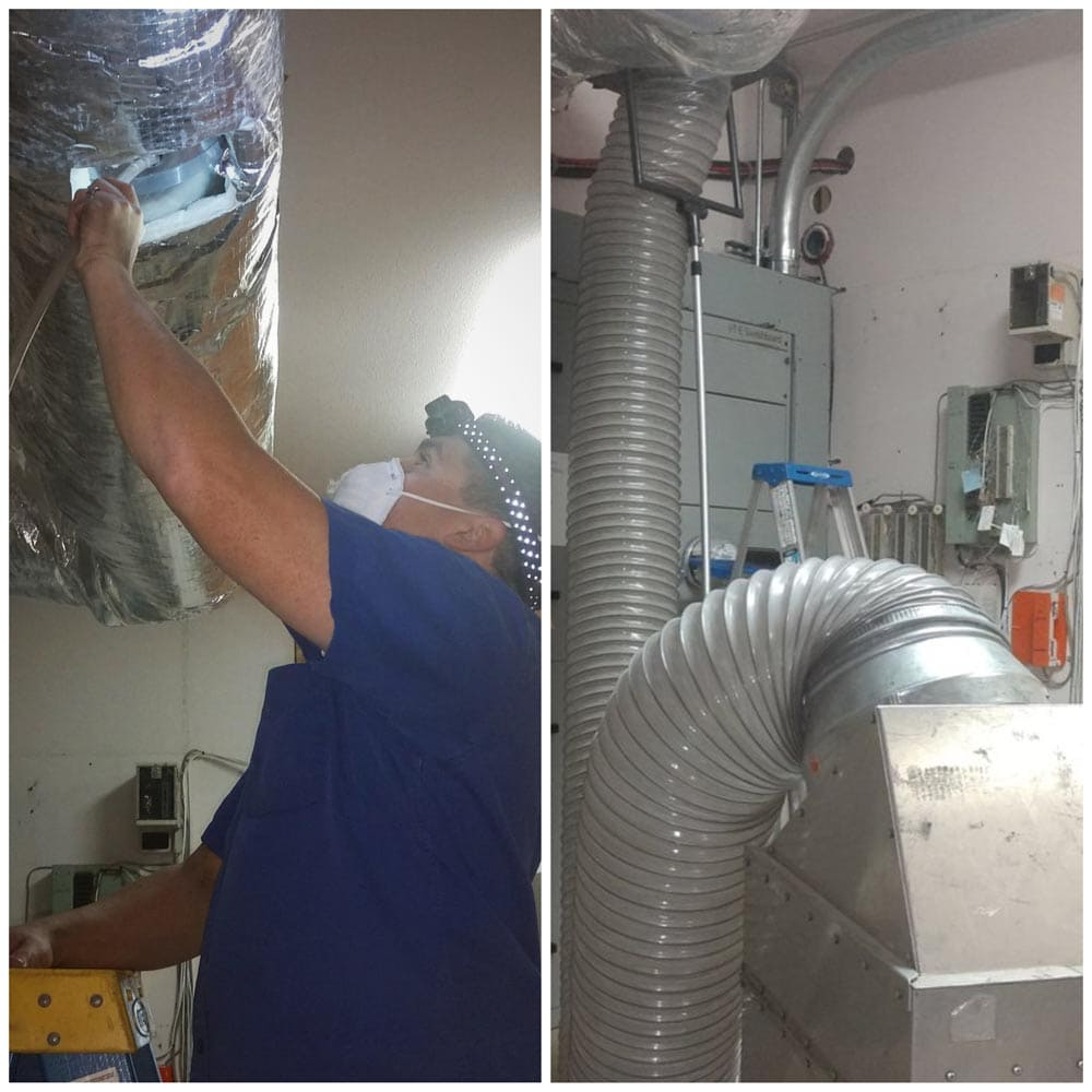 Commercial Duct Cleaning NADCA Santa Rita Union District Office