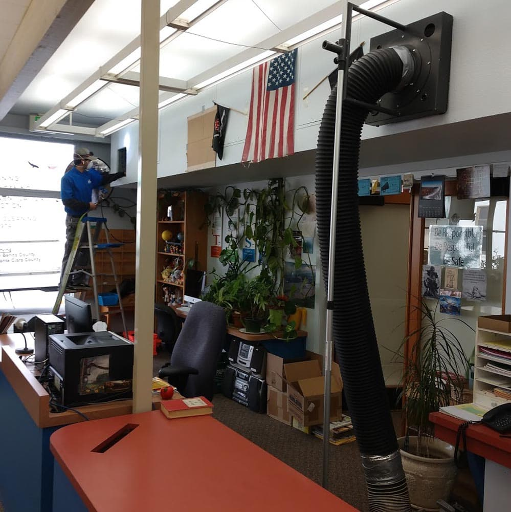 Commercial Duct Cleaning NADCA Spreckels Elementary School