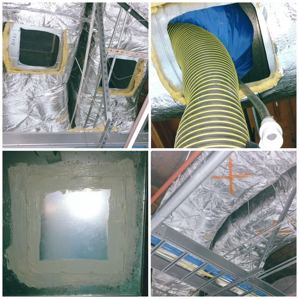 Commercial Duct Cleaning Service Openings
