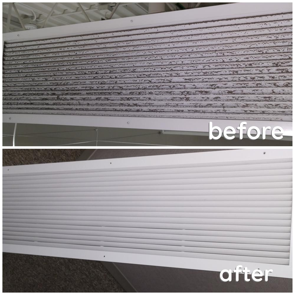 Commercial Duct Cleaning Supply Registers