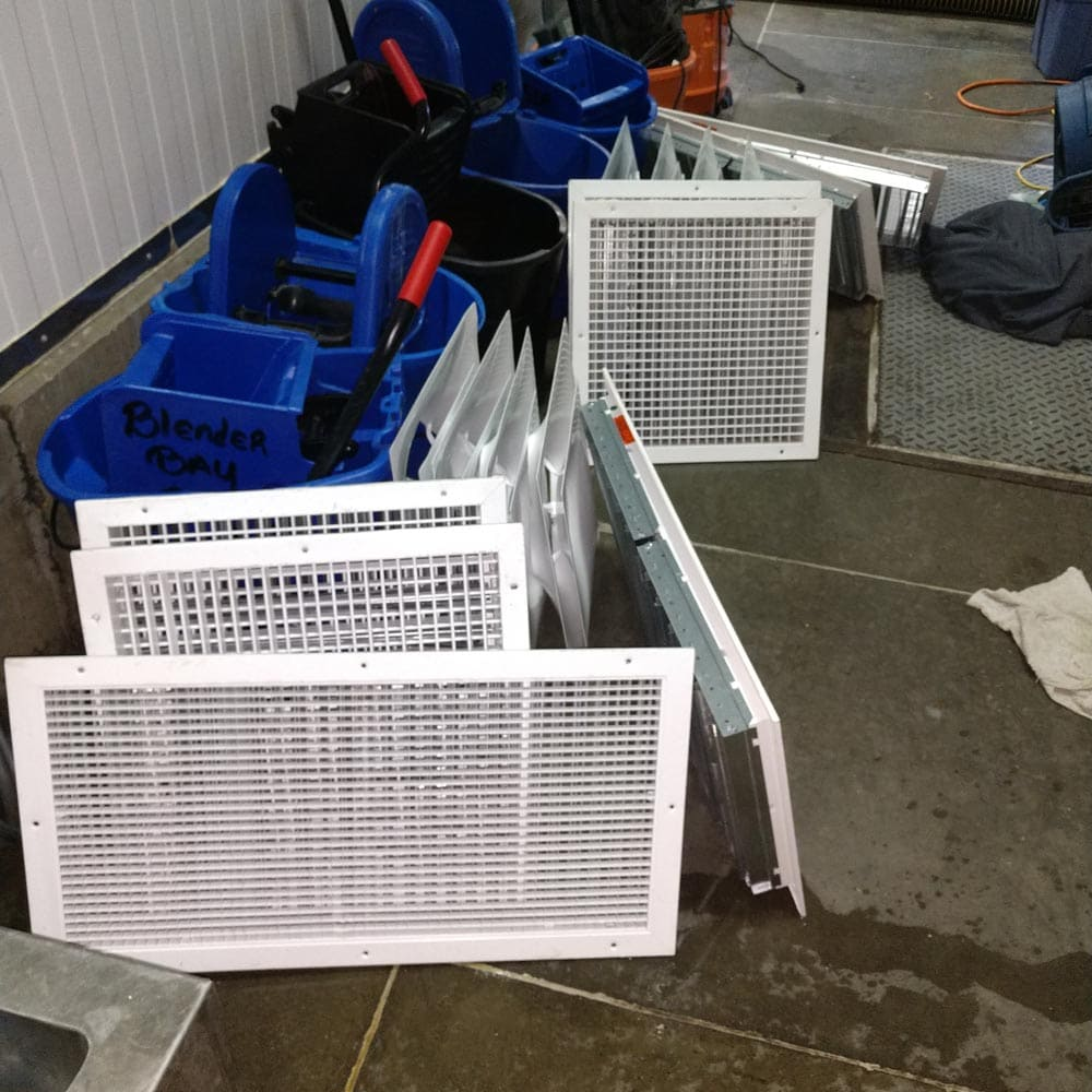 Commercial Duct Cleaning Vent Covers