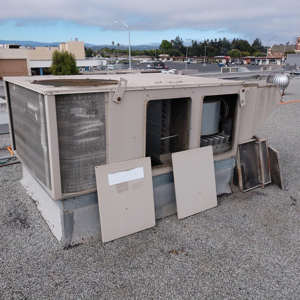 Commercial HVAC Units Cleaning