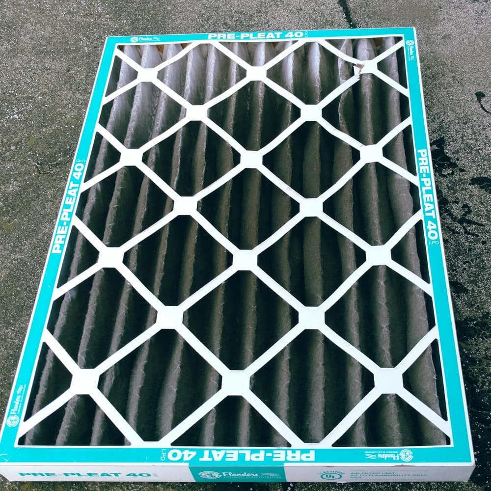 Commercial HVAC Units Dirty Filter