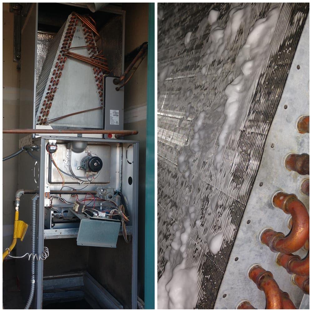 Commercial HVAC Units Evaporator Coils