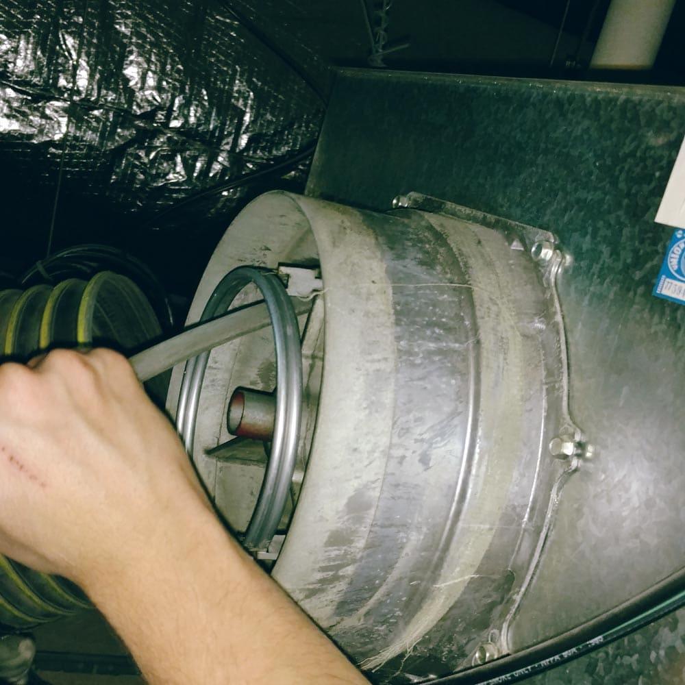 Commercial HVAC Units Vav Box Cleaning