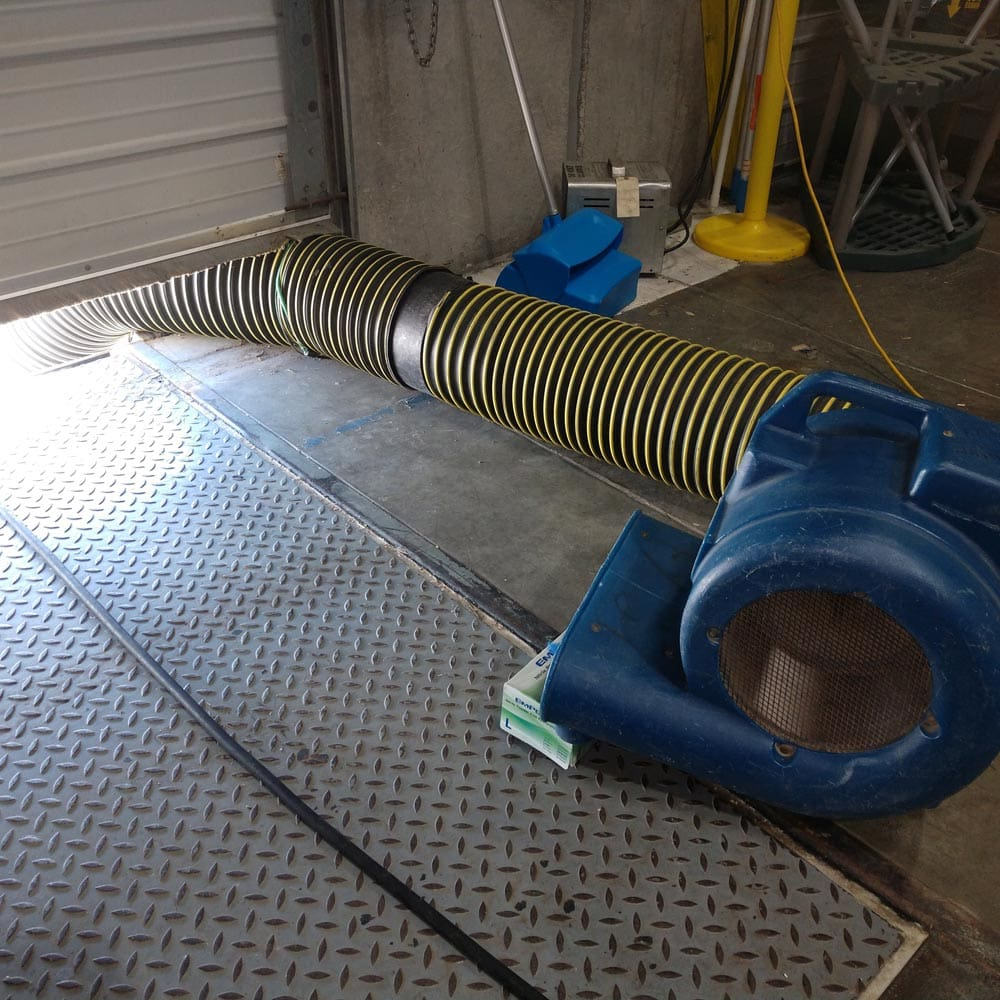 Commercial Setup Air Mover