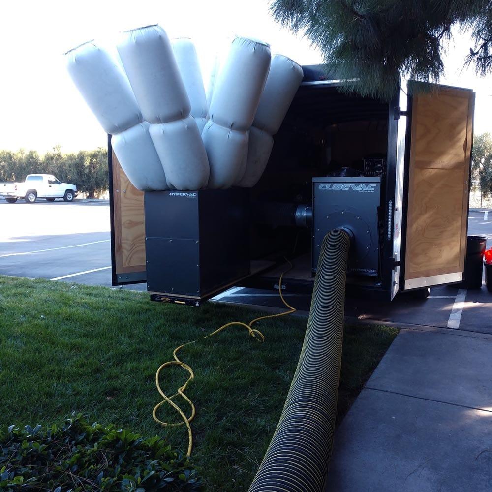 Commercial Setup Cube Vac Hollister