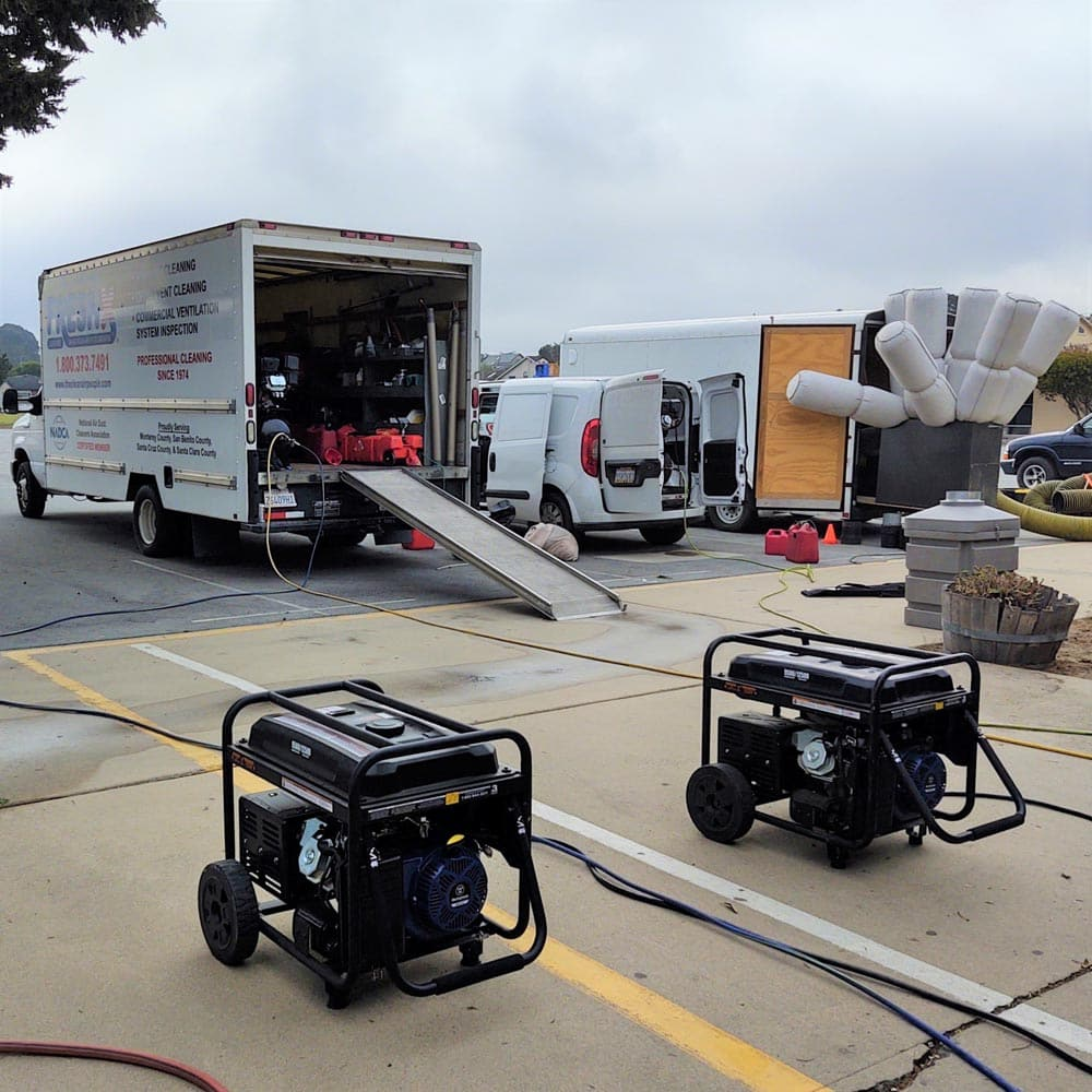 Commercial Setup Equipment Marina Vista Elementary