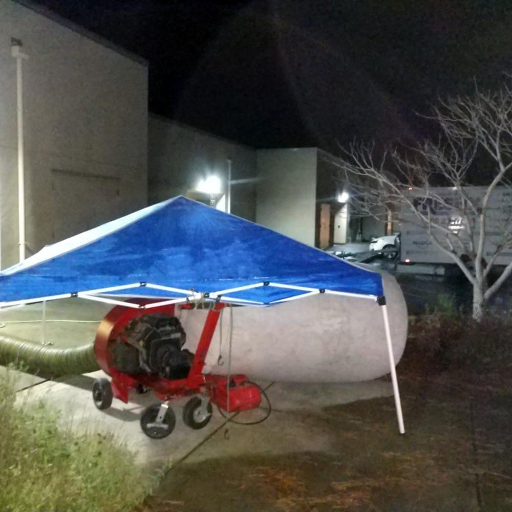Commercial Setup Graveyard Shift CSUMB