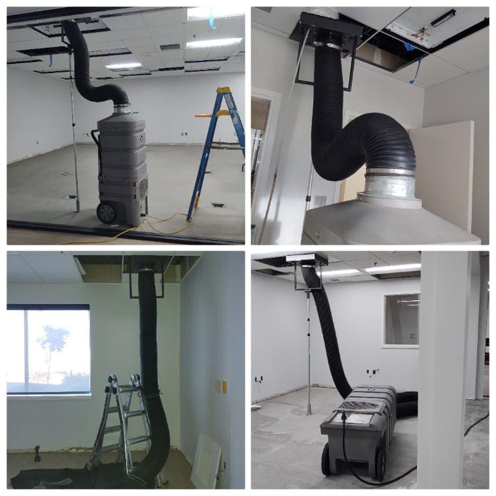 Commercial Setup Hypervac 220V Negative Air Machine
