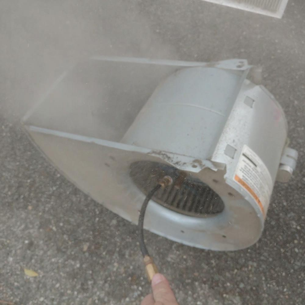 Residential Blower Fan Cleaning Air Whip