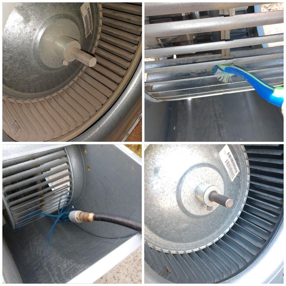 Residential Blower Fan Cleaning
