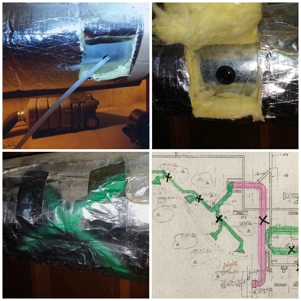 Residential Duct Cleaning Access Hole Blueprint Implementation