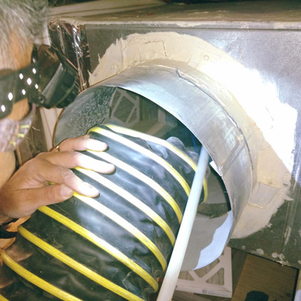 Residential Duct Cleaning Supply Plenum