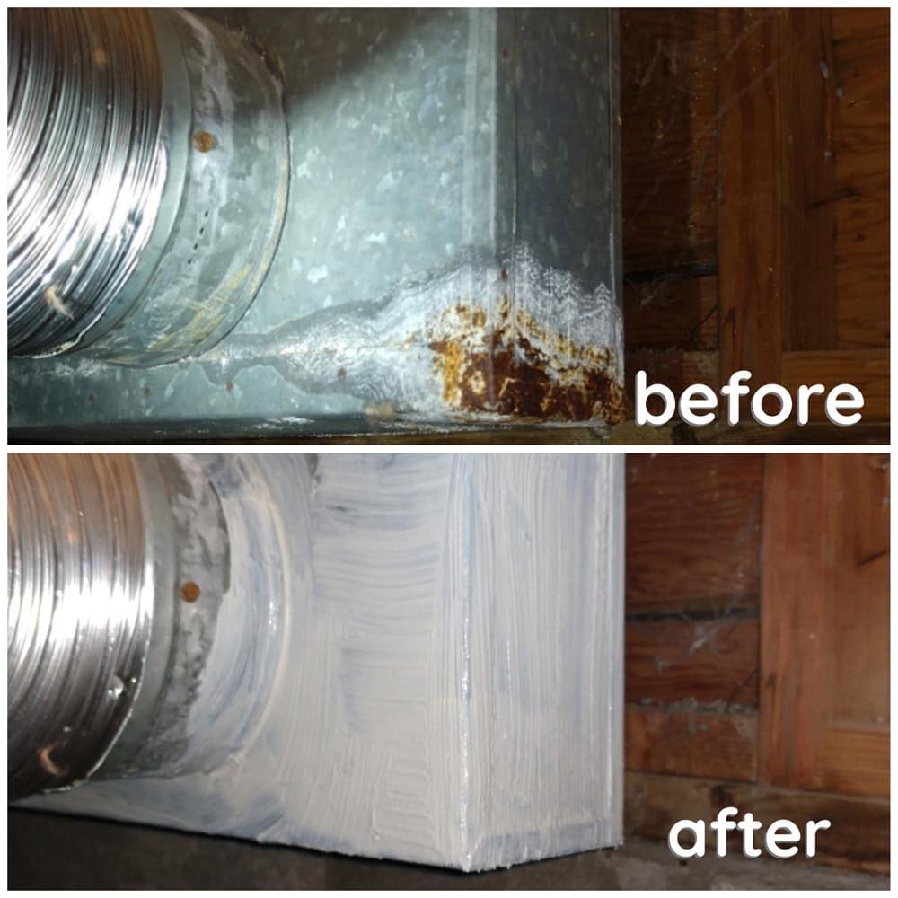 Residential Duct Repair Leakage Mastic