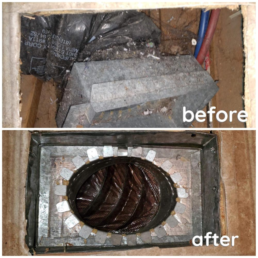 Residential Duct Repair Supply Boot
