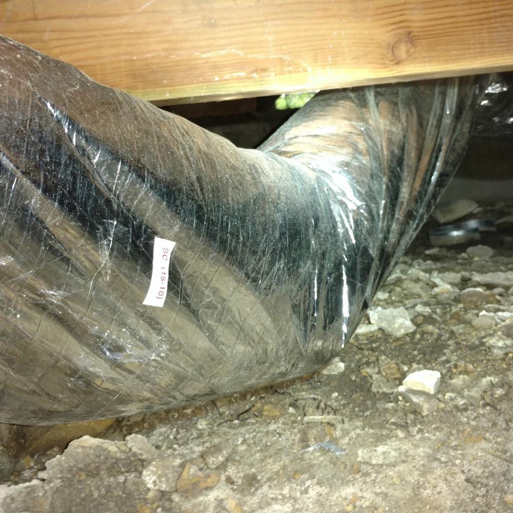 Residential Duct Repair Repair Water Inside Replacement Needed