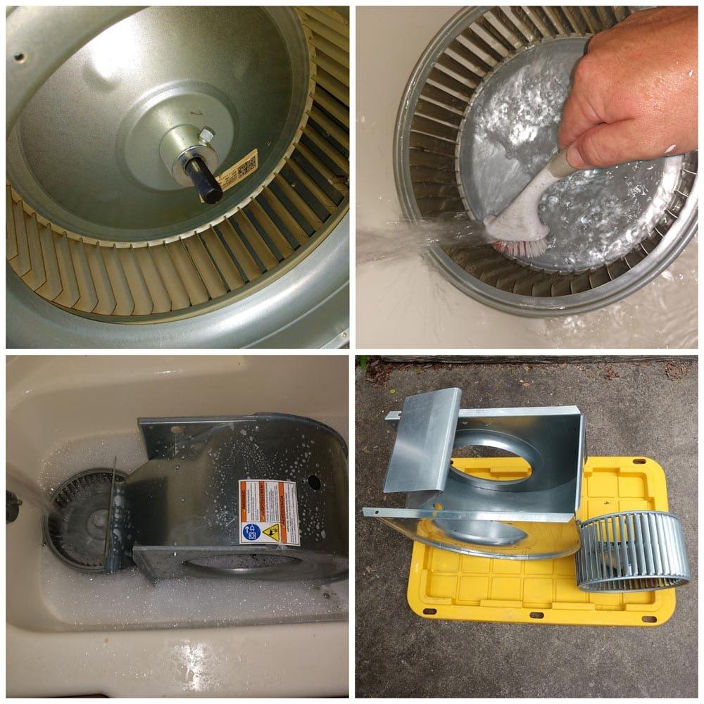 Residential Smoke Blower Fan Cleaning