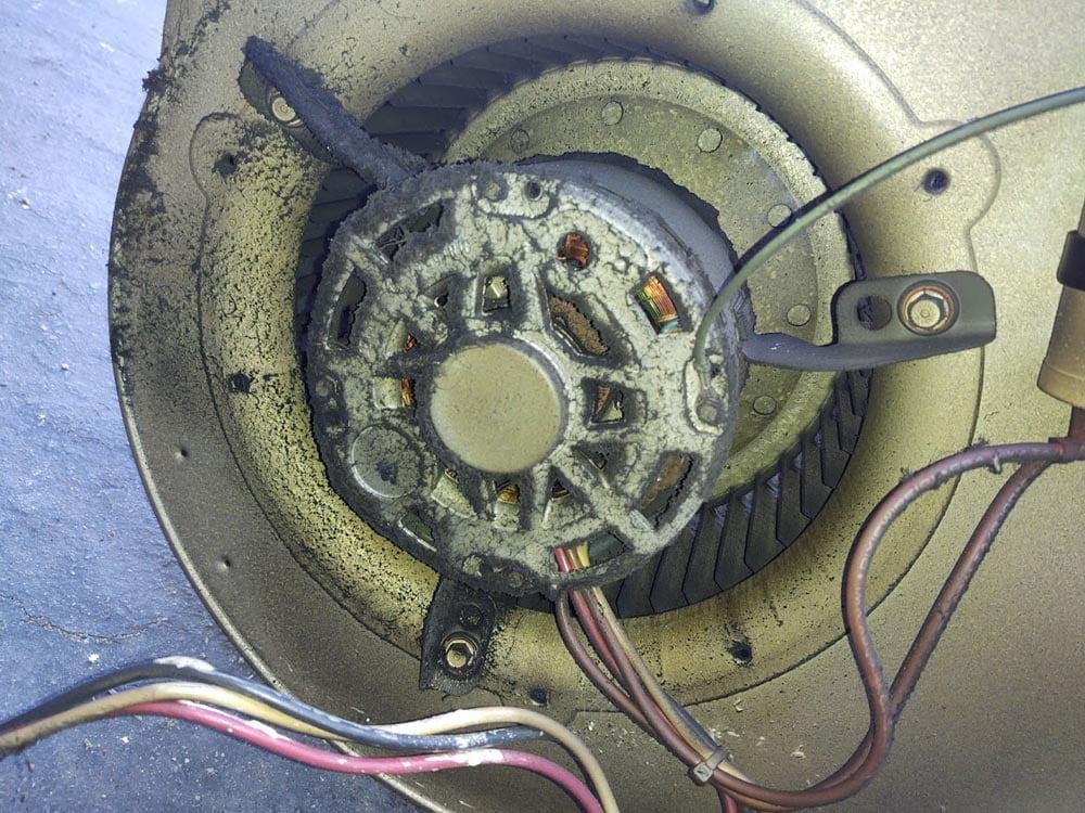Residential Smoke Blower Fan Soot